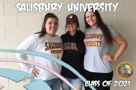 Oh the places you'll go: Nalepa, Ledford, and Nichols becomes seagulls at Salisbury University