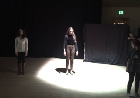 Advanced Theater Production tackles mental health at showcase: Photo of the Day 5/10/2017