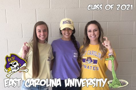 Oh, the places you'll go: East Carolina University welcomes three scholars to their pirate crew