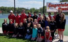 Senior night for tennis team: Photo of the Day 5/4/17