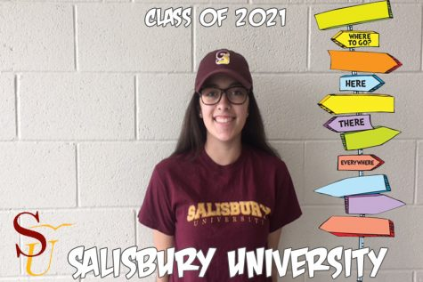 Oh, the places you'll go: Maya Hannon rides the wave to Salisbury University
