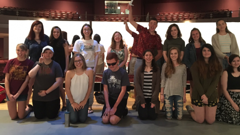 Drama club inducts officers for 2017-2018:  Photo of the Day 5/17/17