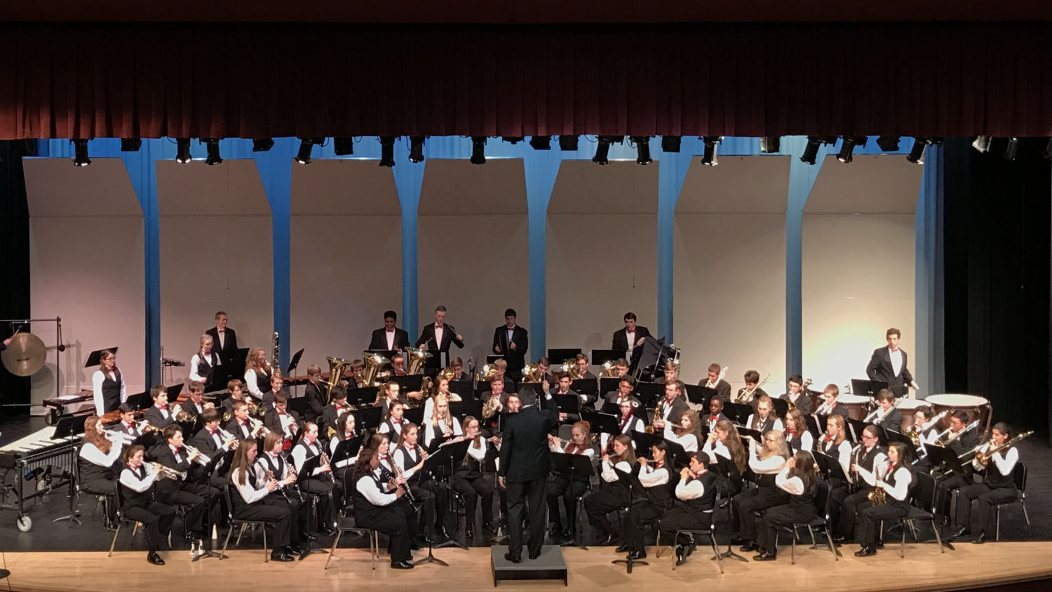 The Symphonic Band performs.