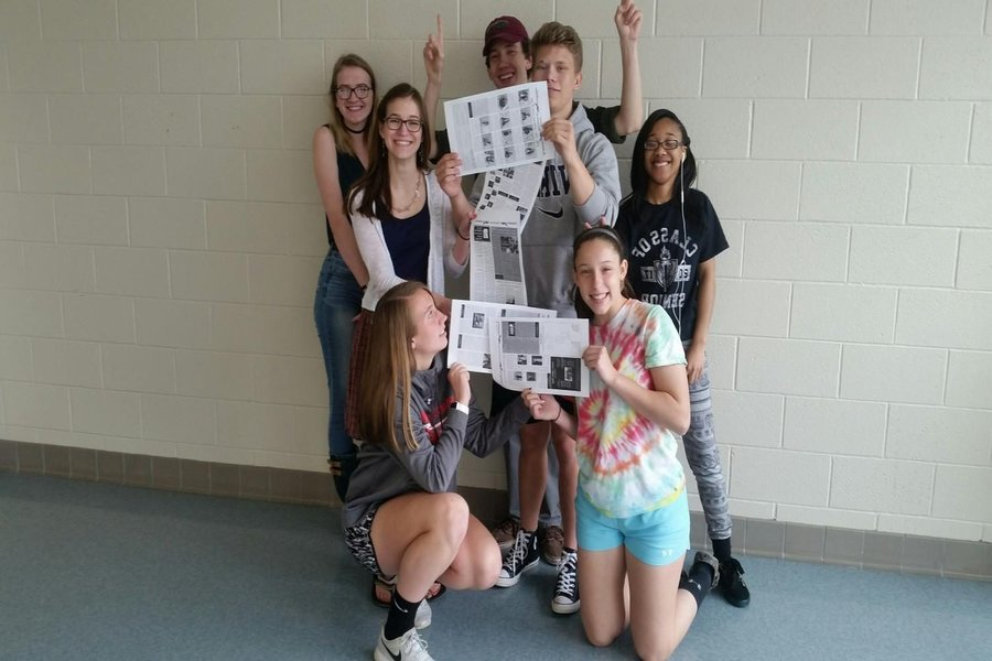 Class of 2017: Journalism students write their last day of school in the books