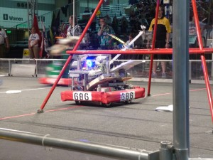 Combined Team 686 Makes it to Semifinals at FIRST Chesapeake Regional Competition