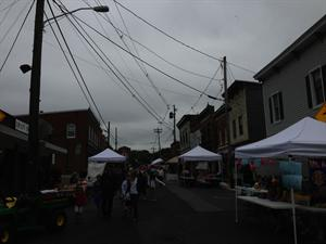 A view of May Fest  2013 from Main Street