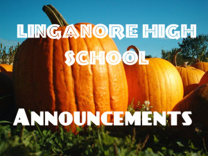 Announcements and today's news: Tuesday October 29, 2013