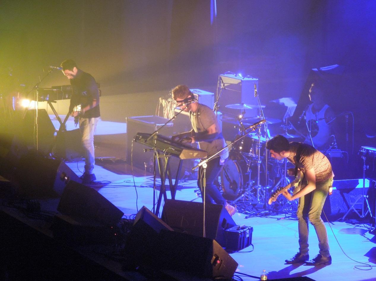 Indie band Small Pools opened for Two Door Cinema Club at Constitution Hall in Washington DC on October 4.