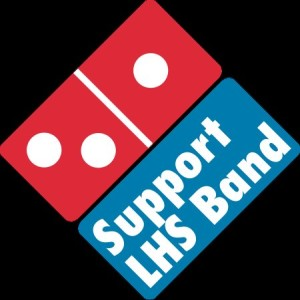 Buy Domino's on Halloween, support the LHS band