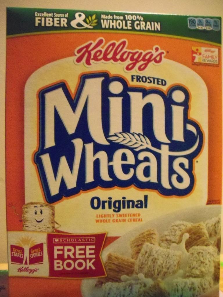 Senior Chris Stephey always has Mini Wheats before a home game.