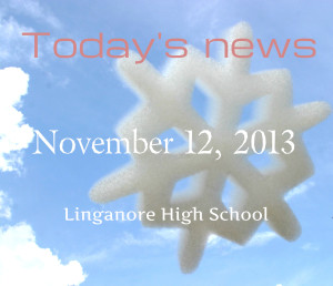 Today's news: November 12, 2013