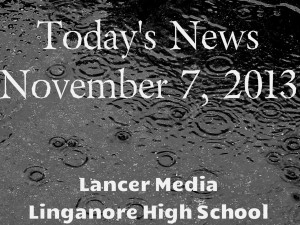Today's news: Thursday, November 7, 2013