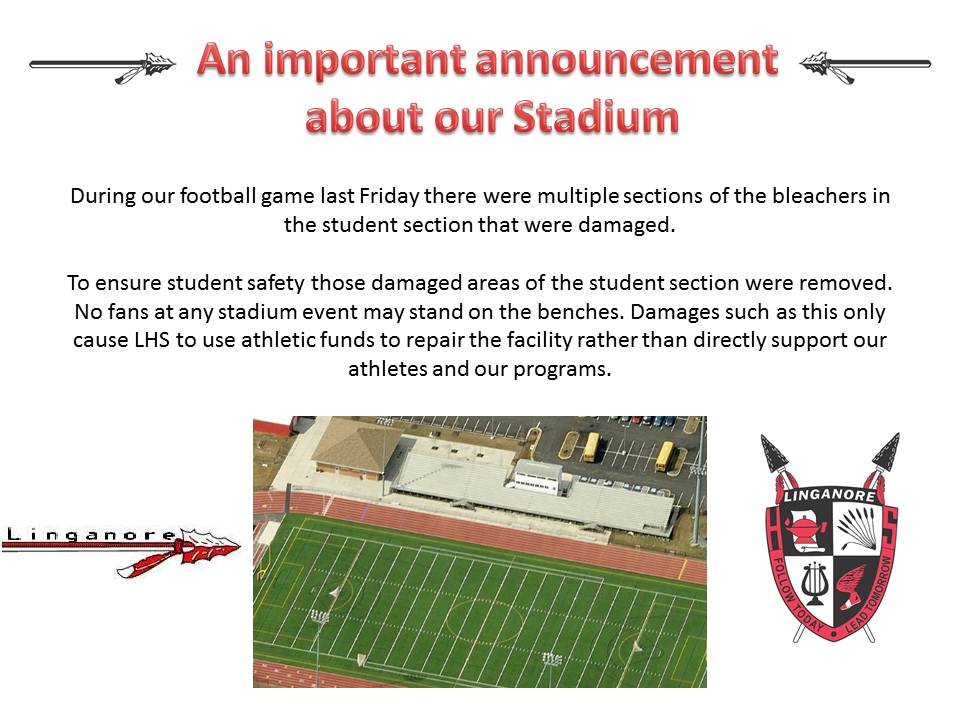 An important announcement about our stadium