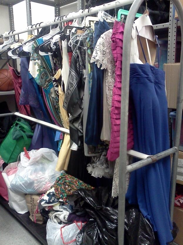 The Lady Lancers held a Cinderella's Closet donation drive through November and December.