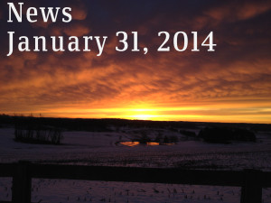 News for Friday, January 31, 2014