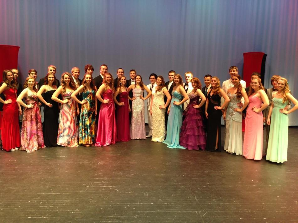 All of the Mr. Linganore contestants.