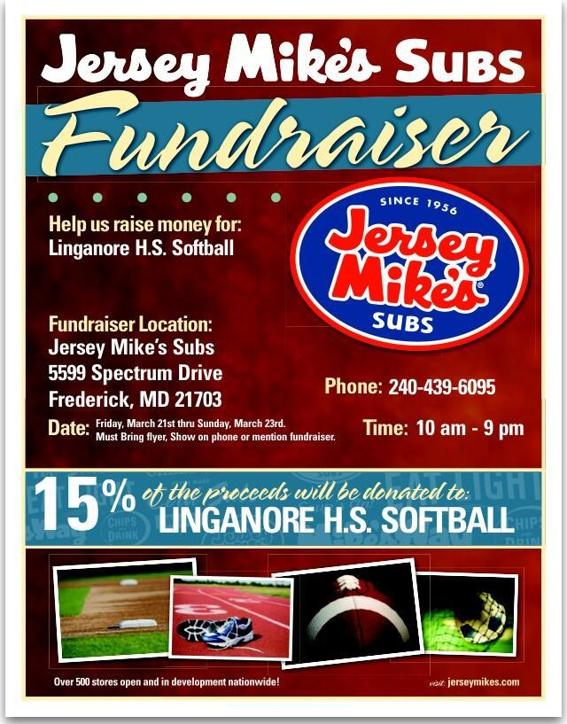 Jersey Mike's fundraiser this weekend