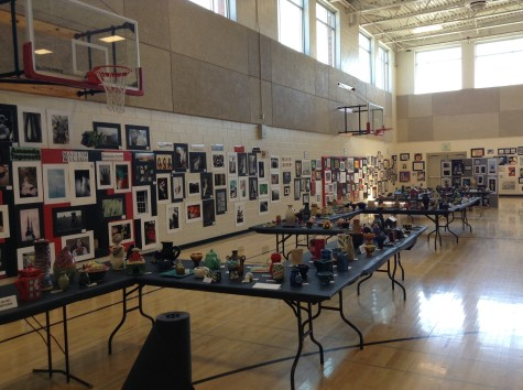 Photo of the day 4/10/2014:  Annual art show begins tonight
