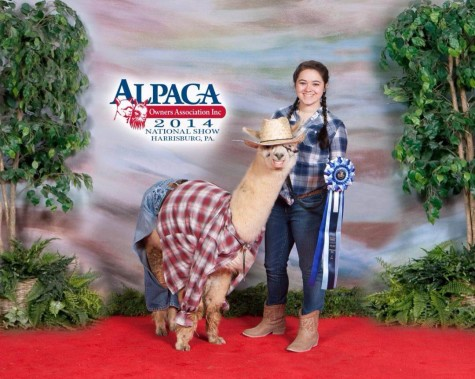 Michelle Weddle:  Most likely to. . .  care for others with two or four legs