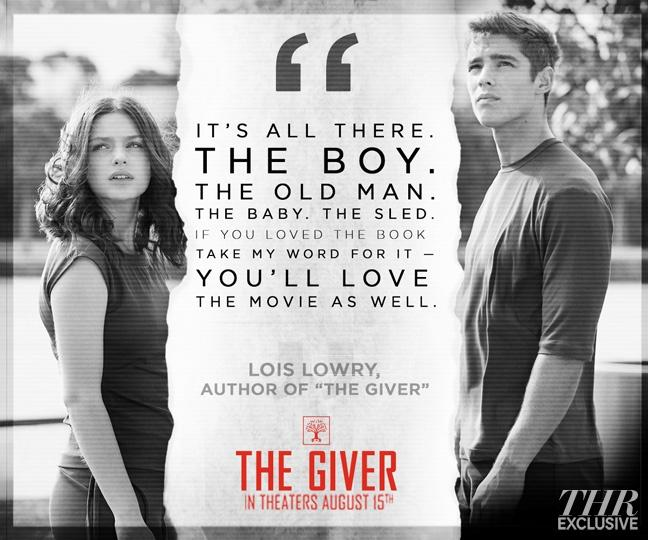 classic novel the giver makes an actionfilled movie