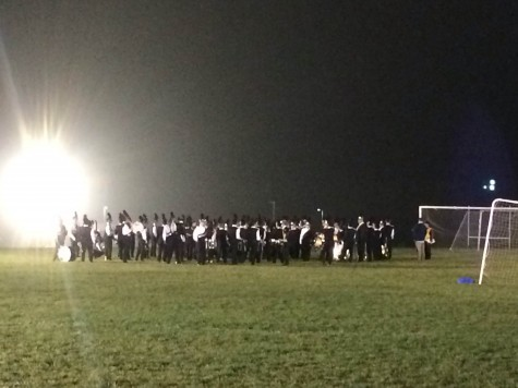 Photo Of The Day 10/13/14: Linganore hosts the 2014 FCPS Marching Band Festival