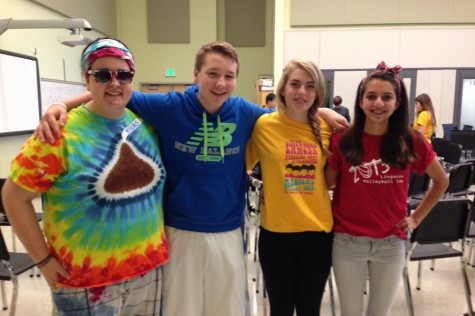 Photo of the day: 10/23/14- Class color day comes to Linganore