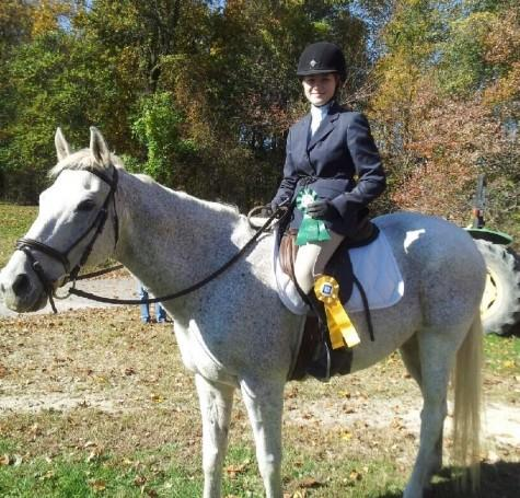 Shuller places in first horse show of the season