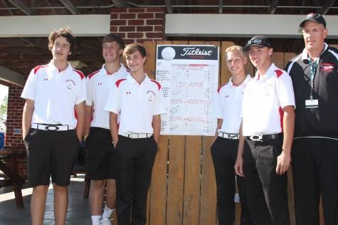 Golf wins Piedmont Division title