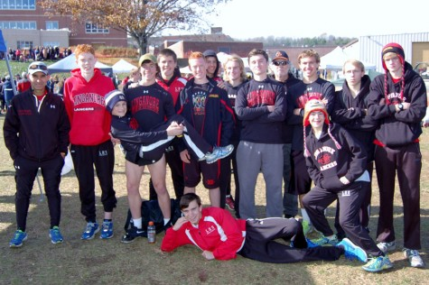 Boys cross country team earns 11th place in state