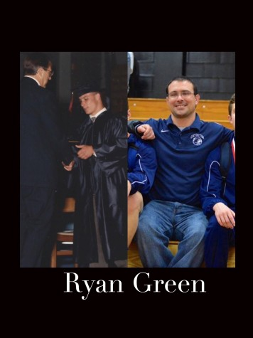 Distinguished Graduate in Athletics, Ryan Green inspires Catoctin wrestlers