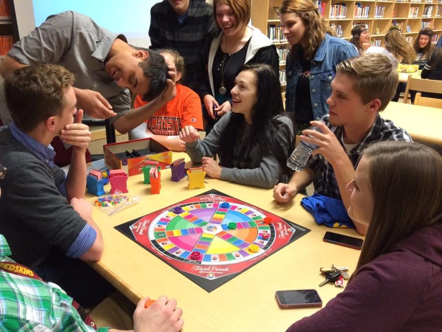 NEHS and NMHS play Trivial Pursuit