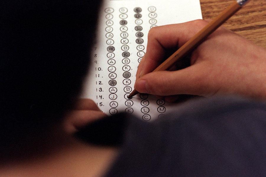 The PARCC assessment is a new standardized test at Linganore this year.