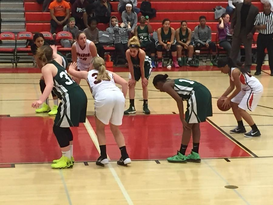 Sophomore Kennedi Ambush puts up a free throw early in Tuesday's night game against Tuscarora.