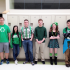 Linganore students show their Irish pride. (Left to right: Nate Smith, Alyssa Yammarino, Richie Deuto, Brandon Cooper, Ashley Gamble, Aaron Calenoff)