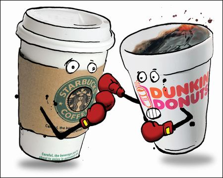 Coffee Wars: Dunkin Donuts or Starbucks?