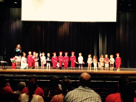 Little Lancers Graduate from Preschool: Photo of Day 5/27/2015
