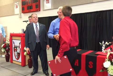 Students recognized at awards assembly: Photo of the day 6/2/15