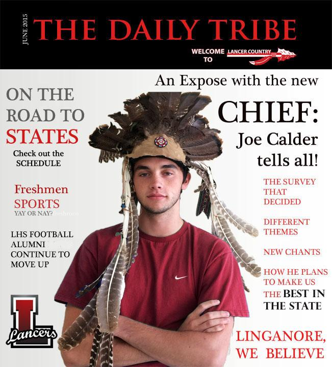 Joe Calder: Most likely to...cheer you to victory