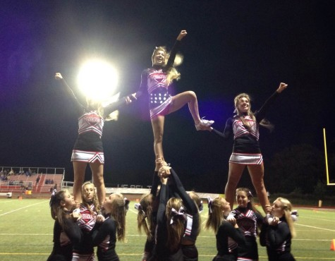 JV squad cheers football to win against Walkersville: Photo of the Day 9/30/15