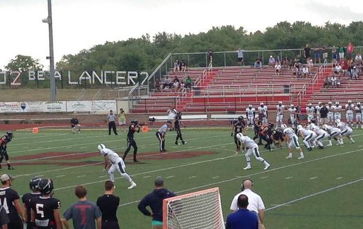 Linganore football resumes play against Tuscarora after Friday night's lightning delay