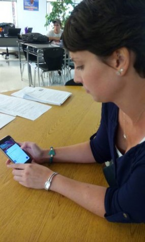 My favorite app is… Google Classroom: Laura Scuffins