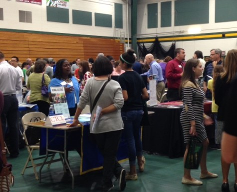 Students attend college fair at FCC: Photo of the Day 10/8/15