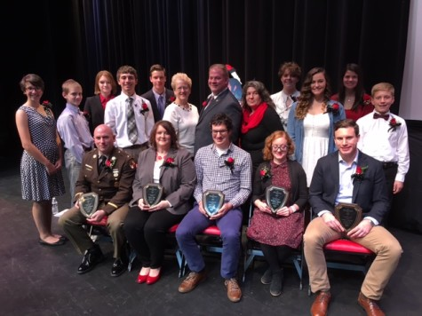Distinguished Graduates 2015 receive awards:  Photo of the Day 11/24/2015