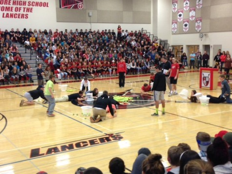 Pep rally for girls soccer: Photo of the day 11/19/15