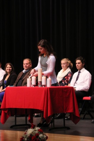 National Honor Society welcomes new members: Photo of the Day 11/17/15