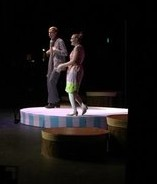 Kylan Connolly and Abbie Weinel as Elephant and Piggie.