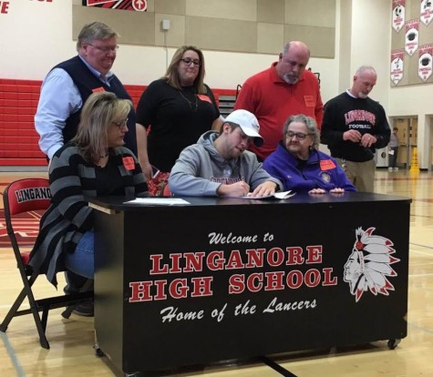 Staub officially signs to Shippensburg University football