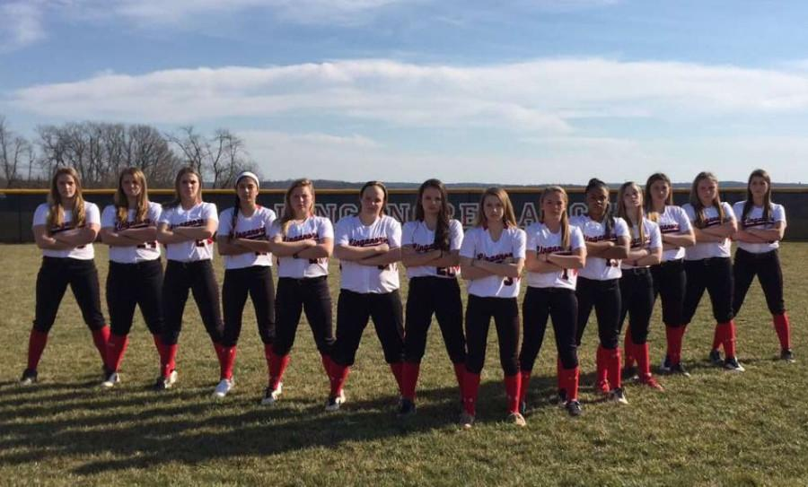 Softball team swings for the 2016 state champion fence