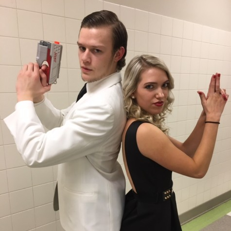 Mr. Linganore 2016: Schmidt channels his inner Bond