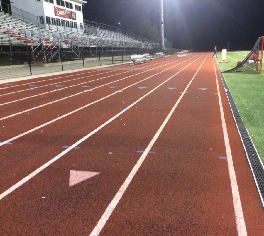 A silent track after a another challenging workout.